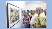 Group art show '17' underway at Galleri Kaya