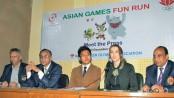 Asian Games 'Fun Run' today