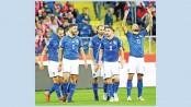 Azzurri awaken after winless year