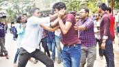 BCL men assault DU teachers, students