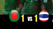Bangladesh hold Thailand 1-1 in Asian Game