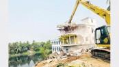 BIWTA pulls down 185 structures along Turag
