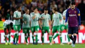 Barca stunned by Betis