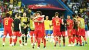 Belgium stun Brazil