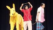 Natyakendra stages two play 'Bondukjuddho', 'Gadhar Haat'