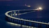 China opens world's largest sea bridge