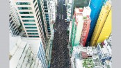 Demonstration chokes HK as extradition anger boils