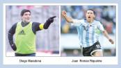Riquelme and Maradona carry old feud into Boca election