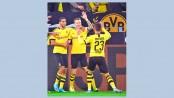 Dortmund beat league leaders Gladbach
