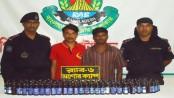 2 'drug smugglers' held in Jessore
