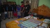 Fake currency-making factory busted in N'ganj; 2 held