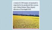 Farmers expect bumper mustard harvest in Narsingdi