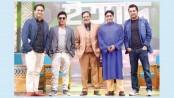 Four popular actors in rhythmic talk show of 'Ityadi'