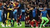 France, Croatia seek World Cup glory