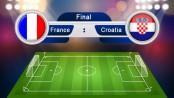 A capsule look at France-Croatia WC final