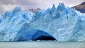 Chilean glacier shows sign of climate change