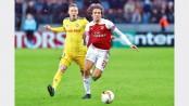 Gunners face uphill battle to progress in Europa