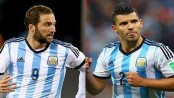 Aguero back for Argentina, Higuain still out