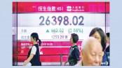 Asian markets mostly up as trade news awaited, Hong Kong rises
