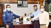 IGP provides four oxygen concentrators to DRU
