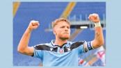 Immobile hat-trick crushes Sampdoria