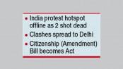 UN slams 'discriminatory'  Indian citizenship act