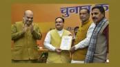 JP Nadda elected new BJP chief