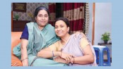 Ferdousi and Chhoby in Mother's Day special 'Jagat Sangsar'