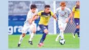 Japan, Ecuador end in stalemate