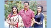Manos, Chanda and Ishana together in 'Japito Jibon'