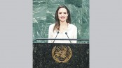 Jolie lauds 