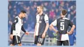 Juve defeat throws open Serie A title race