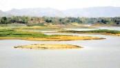 Kaptai Lake in  death throes