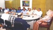 Khaleda sits with BNP vice-chairmen