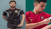 Messi, Ronaldo reveal World Cup kits