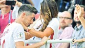 Lewandowski frustrated in Poland loss