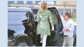 Melania Trump visits US-Mexican border