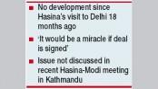 Modi's Teesta pledge on the verge of failure