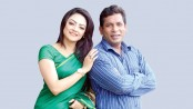 Mosharraf Karim and Ishana share screen under Mithu's direction