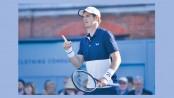 Murray celebrates return by reaching final