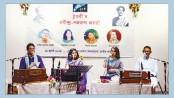 Thumri celebrates Rabindra-Nazrul anniversary