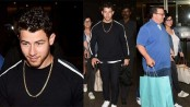 Nick Jonas reaches India for engagement bash with Priyanka