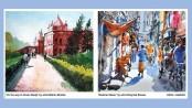 Group art show 'Notun Dekha Puran Dhaka' ends tomorrow