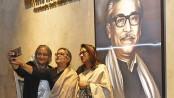 PM, Sheikh Rehana visit exhibition on Bangabandhu
