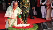 AL Anniversary: PM pays homage to Bangabandhu