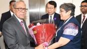 President Hamid reaches Tokyo