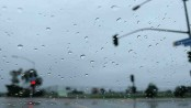 Light to moderate rain, thundershowers likely