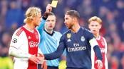 Ramos denies deliberate yellow card against Ajax