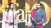 Alia wins Best Actress, Ranveer takes Best Actor prize