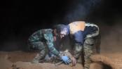 50 bodies of jihadists, civilians recovered from Raqqa mass grave